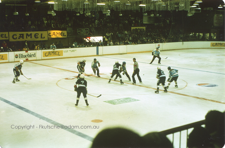 South Australian Ice Centre At Payneham In 1981
